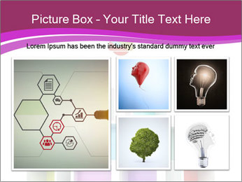 Colorful Light Bulb PowerPoint Templates - Slide 19