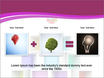 Colorful Light Bulb PowerPoint Templates - Slide 22