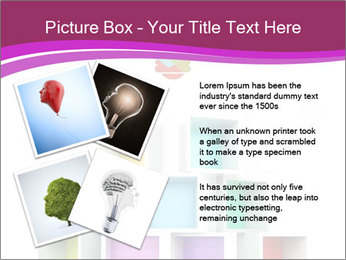 Colorful Light Bulb PowerPoint Templates - Slide 23