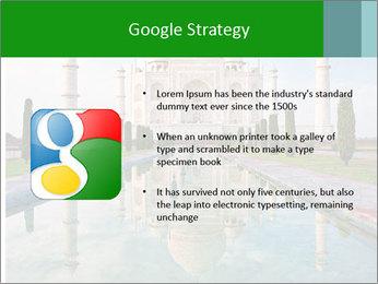 Marble Taj Mahal PowerPoint Template - Slide 10