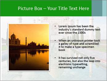 Marble Taj Mahal PowerPoint Template - Slide 13