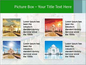 Marble Taj Mahal PowerPoint Template - Slide 14