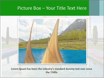 Marble Taj Mahal PowerPoint Template - Slide 16