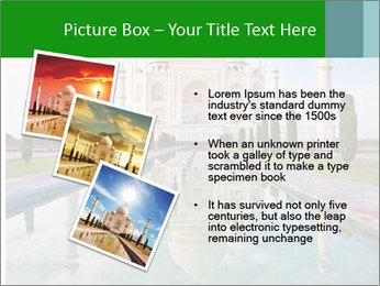 Marble Taj Mahal PowerPoint Template - Slide 17