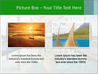 Marble Taj Mahal PowerPoint Template - Slide 18