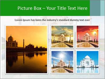 Marble Taj Mahal PowerPoint Template - Slide 19