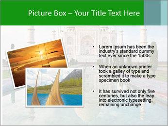 Marble Taj Mahal PowerPoint Template - Slide 20