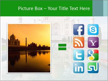 Marble Taj Mahal PowerPoint Templates - Slide 21