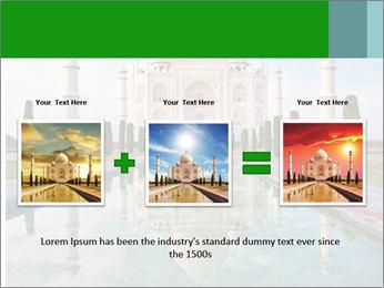 Marble Taj Mahal PowerPoint Template - Slide 22