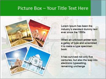 Marble Taj Mahal PowerPoint Template - Slide 23