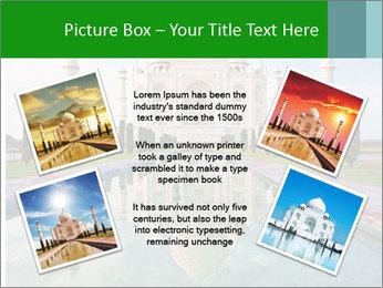 Marble Taj Mahal PowerPoint Template - Slide 24
