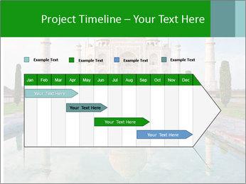 Marble Taj Mahal PowerPoint Template - Slide 25