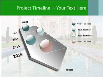 Marble Taj Mahal PowerPoint Template - Slide 26