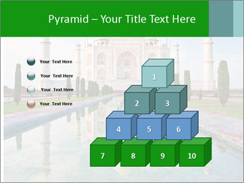 Marble Taj Mahal PowerPoint Template - Slide 31