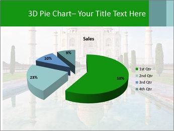 Marble Taj Mahal PowerPoint Template - Slide 35