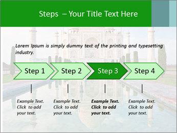Marble Taj Mahal PowerPoint Template - Slide 4