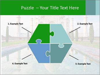 Marble Taj Mahal PowerPoint Template - Slide 40