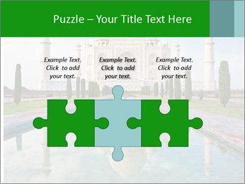 Marble Taj Mahal PowerPoint Template - Slide 42