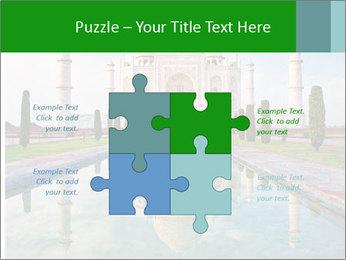 Marble Taj Mahal PowerPoint Template - Slide 43