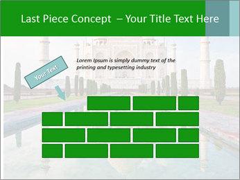 Marble Taj Mahal PowerPoint Templates - Slide 46