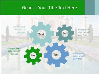 Marble Taj Mahal PowerPoint Template - Slide 47