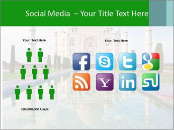 Marble Taj Mahal PowerPoint Template - Slide 5