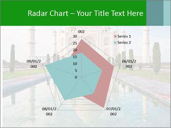 Marble Taj Mahal PowerPoint Template - Slide 51