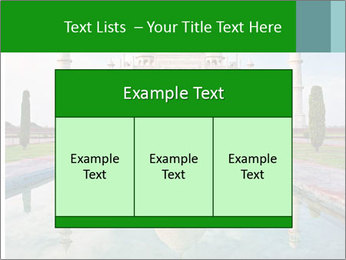 Marble Taj Mahal PowerPoint Template - Slide 59