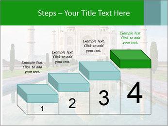 Marble Taj Mahal PowerPoint Template - Slide 64