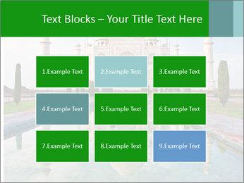 Marble Taj Mahal PowerPoint Template - Slide 68