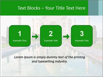 Marble Taj Mahal PowerPoint Template - Slide 71