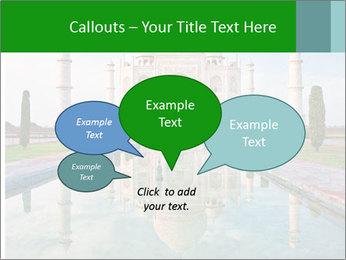 Marble Taj Mahal PowerPoint Template - Slide 73