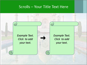 Marble Taj Mahal PowerPoint Template - Slide 74