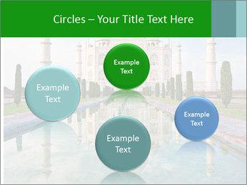 Marble Taj Mahal PowerPoint Template - Slide 77