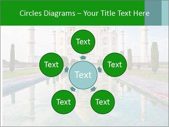 Marble Taj Mahal PowerPoint Template - Slide 78