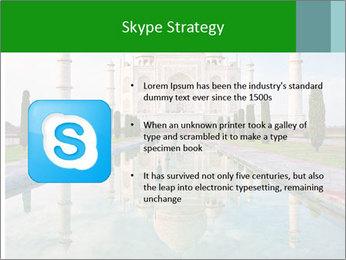 Marble Taj Mahal PowerPoint Template - Slide 8