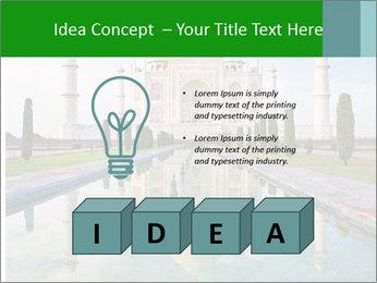 Marble Taj Mahal PowerPoint Template - Slide 80