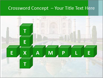 Marble Taj Mahal PowerPoint Template - Slide 82
