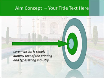 Marble Taj Mahal PowerPoint Template - Slide 83