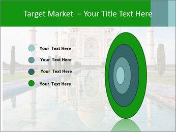 Marble Taj Mahal PowerPoint Template - Slide 84