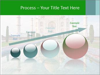 Marble Taj Mahal PowerPoint Template - Slide 87