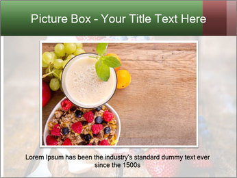 Berry Granola PowerPoint Templates - Slide 15