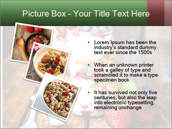 Berry Granola PowerPoint Templates - Slide 17