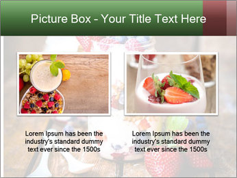 Berry Granola PowerPoint Templates - Slide 18
