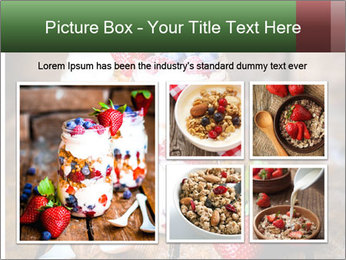 Berry Granola PowerPoint Templates - Slide 19