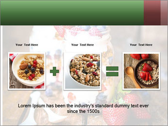 Berry Granola PowerPoint Templates - Slide 22