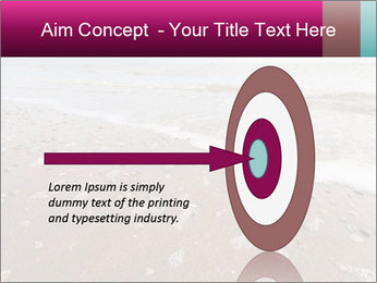 Empty Beach PowerPoint Template - Slide 83