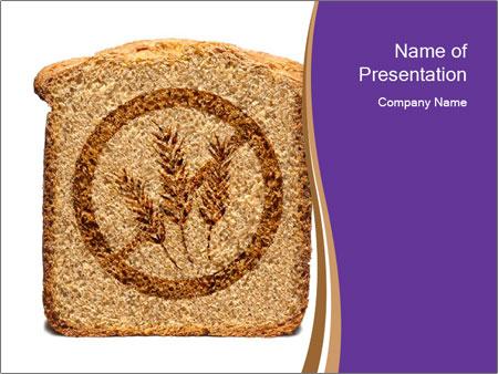 Gluten Free Bread PowerPoint Template