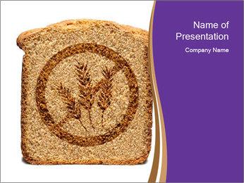 Gluten Free Bread PowerPoint Templates - Slide 1