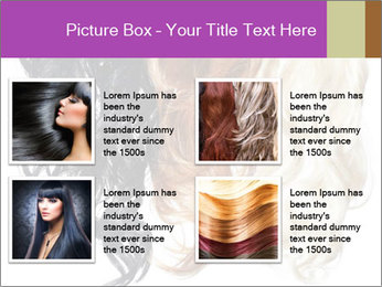 Color Palette For Hair PowerPoint Template - Slide 14